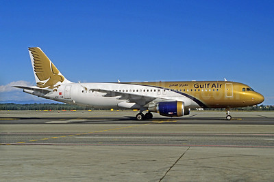 Gulf Air Airbus A320-214 A9C-AM (msn 4827) MXP (Jacques Guillem Collection). Image: 923175.