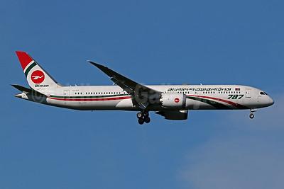 Biman Bangladesh Airlines Boeing 787-9 Dreamliner S2-AJX (msn 60327) IAD (Brian McDonough). Image: 955487.