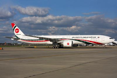 Biman Bangladesh Airlines Boeing 777-3E9 ER S2-AFP (msn 40123) LHR. Image: 937431.
