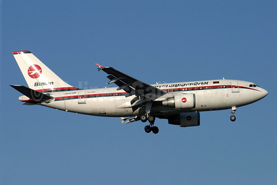 Biman Bangladesh Airlines Airbus A310-325 S2-ADH (msn 650) LHR (Antony J. Best). Image: 900937.