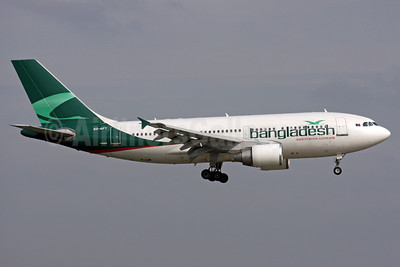 Bangladesh Airlines (Biman Bangladesh Airlines) Airbus A310-325 S2-AFT (msn 642) LHR (Antony J. Best). Image: 905395.