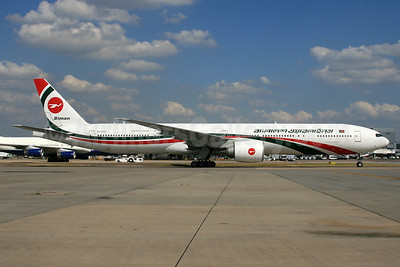 Biman Bangladesh Airlines Boeing 777-3E9 ER S2-AFO (msn 40122) LHR (SPA). Image: 933937.