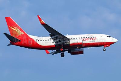 Regent Airways (Bangladesh) Boeing 737-7V3 WL S2-AHC (msn 29360) SIN (Michael B. Ing). Image: 922596.
