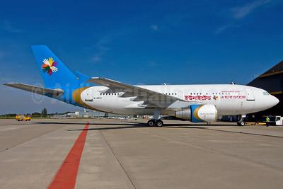 United Airways (Bangladesh) Airbus A310-325 M-ABCX (S2-AFF) (msn 672) MST (Bjorn van der Velpen). Image: 905487.