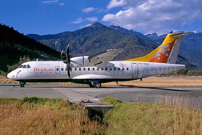Drukair-Royal Bhutan Airlines ATR 42-500 A5-RGH (msn 622) PBH (Jacques Guillem Collection). Image: 954526.