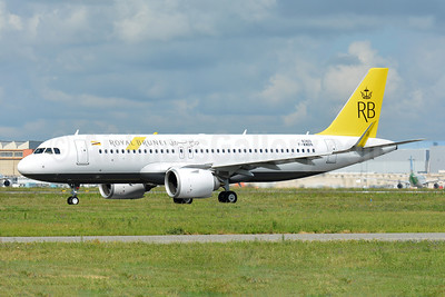 Royal Brunei Airlines Airbus A320-251N WL F-WWBN (V8-RBC) (msn 8360) TLS (Paul Bannwarth). Image: 942968.