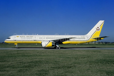 Royal Brunei Airlines (Brunei Government) Boeing 757-2M6 V8-HB1 (V8-RBC) (msn 23454) ORY (Jacques Guillem). Image: 953775.