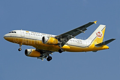 Royal Brunei Airlines Airbus A319-132 V8-RBP (msn 2023) SIN (Kenneth Wong). Image: 907503.