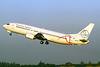 TonleSap Airlines-AirExplore Boeing 737-436 OM-CEX (msn 25839) (AirExplore colors) TPE (Manuel Negrerie). Image: 910867.