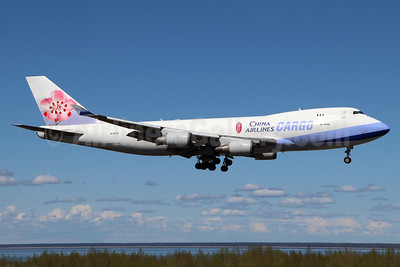 China Airlines Cargo Boeing 747-409F B-18708 (msn 30765) ANC (Michael B. Ing). Image: 938190.