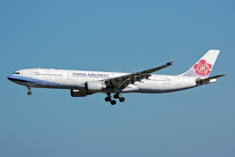 China Airlines Airbus A330-302 B-18310 (msn 714) NRT (Nik French). Image: 920284.