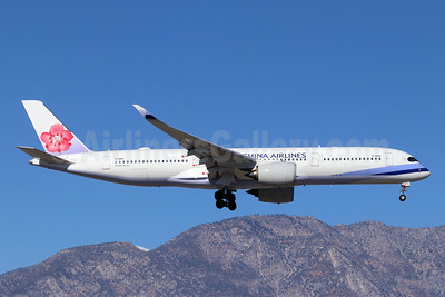 China Airlines Airbus A350-941 B-18912 (msn 162) ONT (Michael B. Ing). Image: 945246.