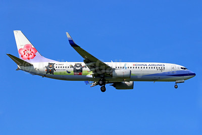 """China Airlines' 2017 """"Buddy Bears"""" special livery"""