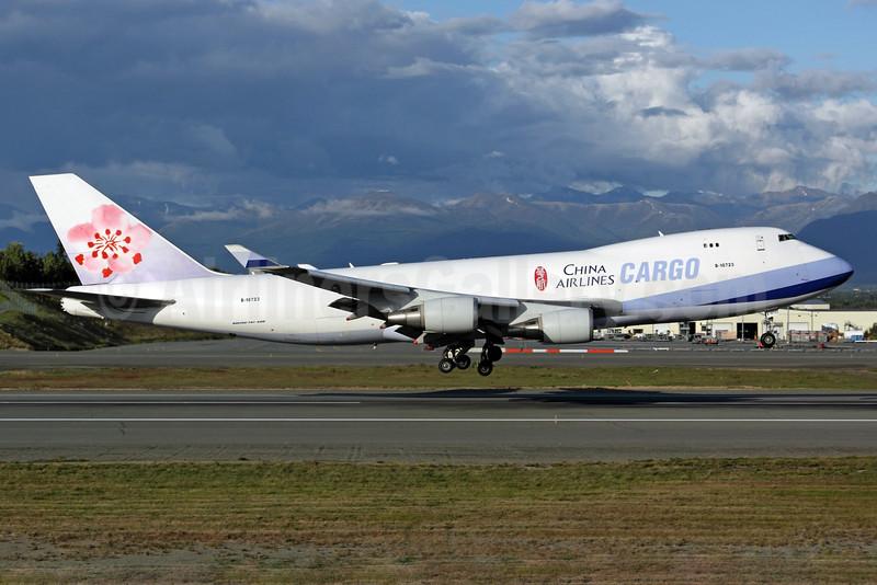 China Airlines Cargo Boeing 747-409F B-18723 (msn 34266) ANC (Michael B. Ing). Image: 903220.