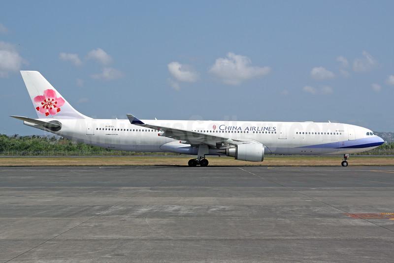 China Airlines Airbus A330-302 B-18301 (msn 602) DPS (Michael B. Ing). Image: 929571.