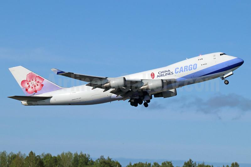 China Airlines Cargo Boeing 747-409F B-18723 (msn 34266) ANC (Michael B. Ing). Image: 927955.