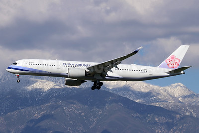 China Airlines Airbus A350-941 B-18902 (msn 057) ONT (Michael B. Ing). Image: 945645.