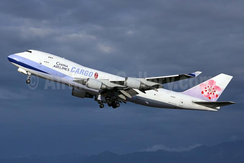 China Airlines Cargo Boeing 747-409F B-18717 (msn 30769) ANC (Michael B. Ing). Image: 907069.