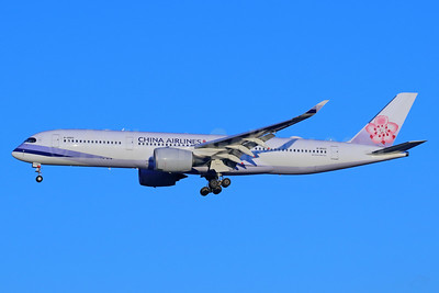 China Airlines Airbus A350-941 B-18902 (msn 057) NRT (Michael B. Ing). Image: 940430.