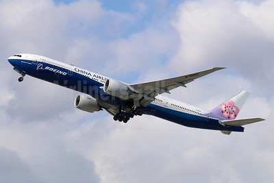China Airlines Boeing 777-309 ER B-18007 (msn 43982) (Boeing special colors) ONT (Michael B. Ing). Image: 941349.