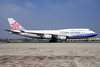 China Airlines Boeing 747-409 B-18211 (msn 33735) LAX (Bruce Drum). Image: 100241.