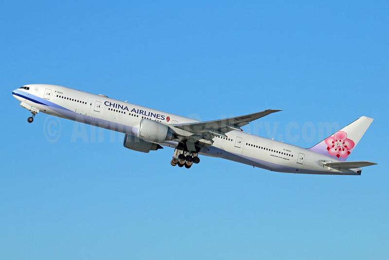 China Airlines Boeing 777-309 ER B-18002 (msn 43980) LAX (Michael B. Ing). Image: 931635.