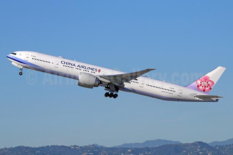 China Airlines Boeing 777-309 ER B-18006 (msn 43981) LAX (Michael B. Ing). Image: 931637.