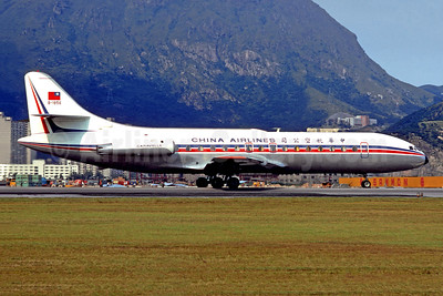 China Airlines Sud Aviation SE.210 Caravelle 3 B-1856 (msn 170) HKG (Christian Volpati). Image: 949519.