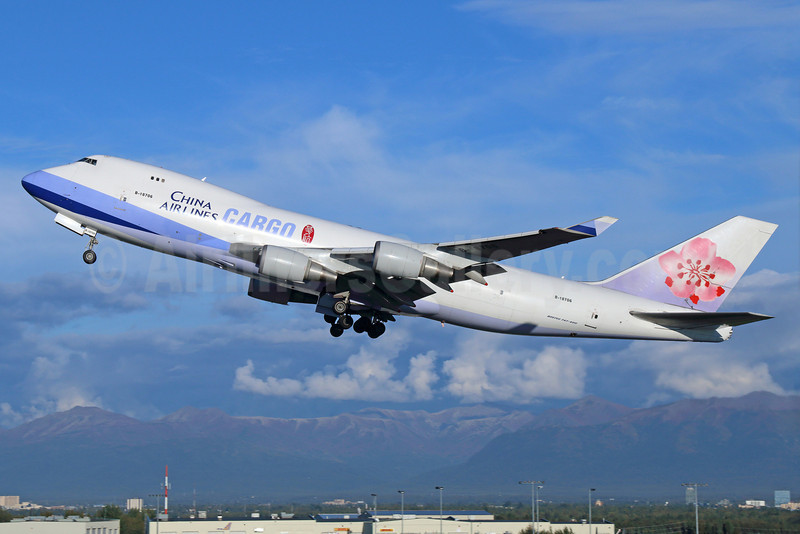 China Airlines Cargo Boeing 747-409F B-18706 (msn 30763) ANC (Michael B. Ing). Image: 921257.