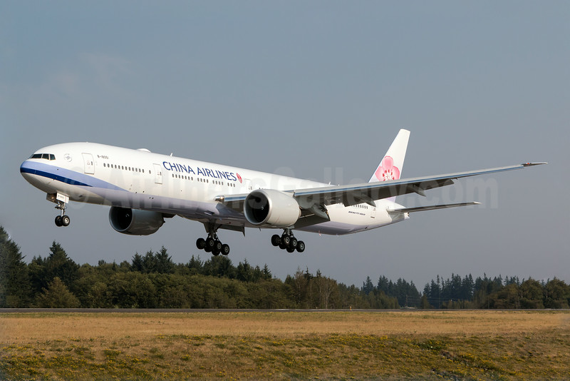 China Airlines' first Boeing 777-300 ER
