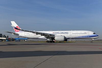 China Airlines Airbus A350-941 B-18917 (msn 208) AMS (Ton Jochems). Image: 947744.
