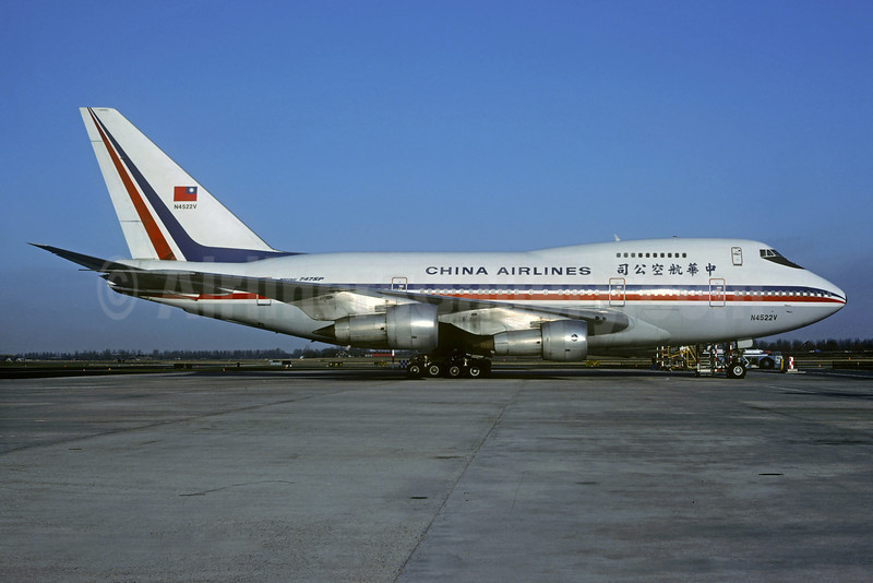 China Airlines Boeing 747SP-09 N4522V (msn 22805) (Jacques Guillem Collection). Image: 932041.