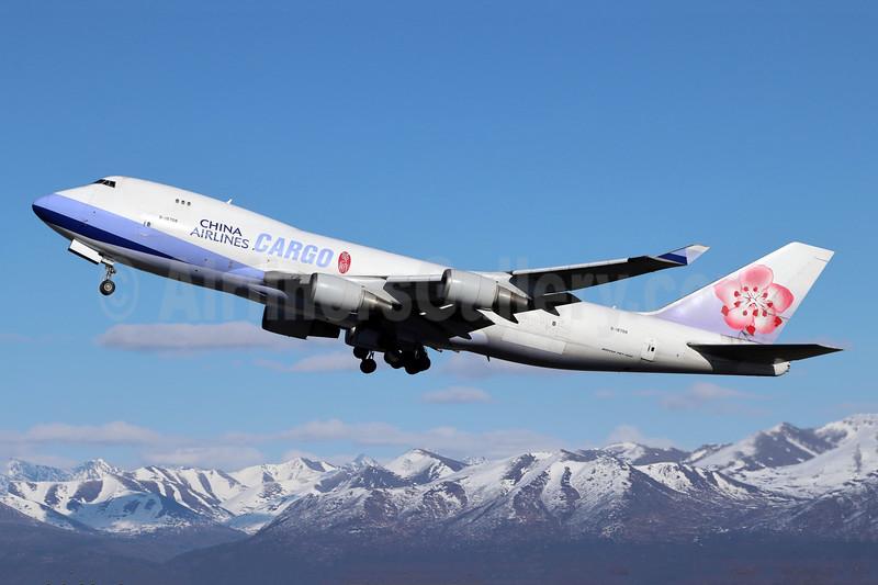 China Airlines Cargo Boeing 747-409F B-18708 (msn 30765) ANC (Michael B. Ing). Image: 910470.