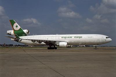 EVA Air Cargo McDonnell Douglas MD-11F B-16110 (msn 48786) LHR (SPA). Image: 954431.