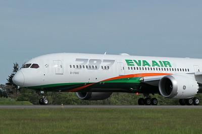 EVA Air Boeing 787-9 Dreamliner B-17885 (msn 42118) PAE (Nick Dean). Image: 946416.