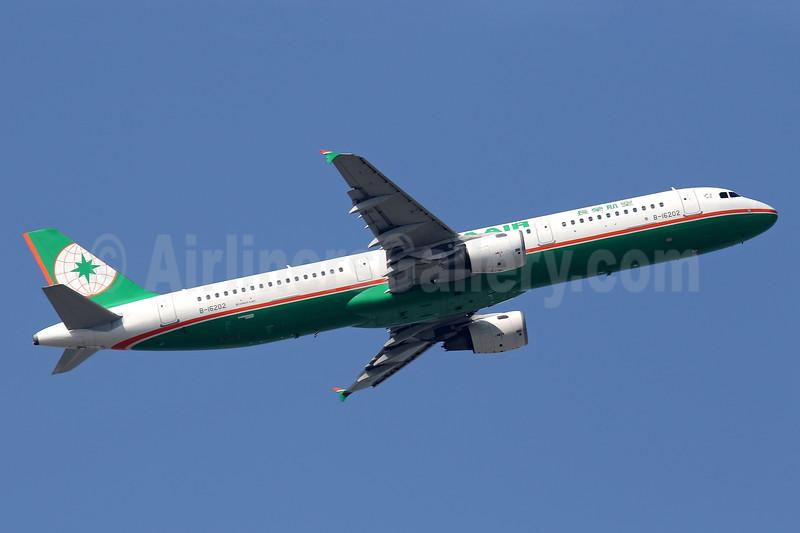 EVA Air Airbus A321-211 B-16202 (msn 5328) HKG (Javier Rodriguez). Image: 938935.