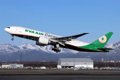 EVA Air Cargo Boeing 777F B-16786 (msn 62828) ANC (Michael B. Ing). Image: 955526.