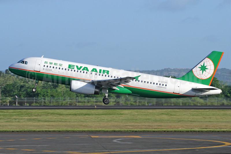 EVA Air Airbus A320-232 B-22310 (msn 791) DPS (Michael B Ing). Image: 926928.