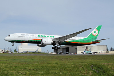 EVA Air Boeing 787-9 Dreamliner B-17885 (msn 42118) PAE (Nick Dean). Image: 946415.