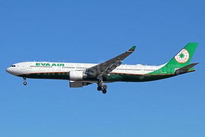 EVA Air Airbus A330-302 B-16340 (msn 1806) NRT (Michael B. Ing). Image: 940415.