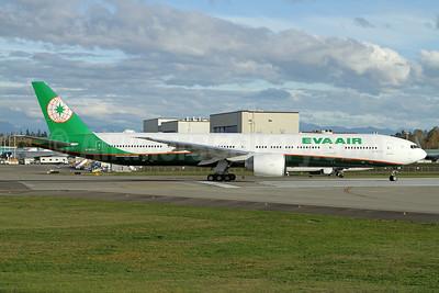 EVA Air Boeing 777-36N ER B-16732 (msn 62287) PAE (Nick Dean). Image: 935383.