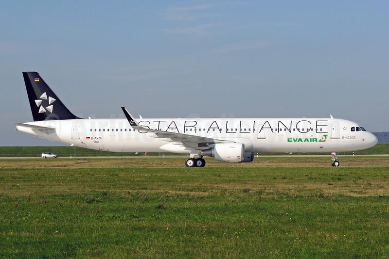 EVA Air Airbus A321-211 WL D-AVZG (B-16206) (msn 5806) (Star Alliance) XFW (Gerd Beilfuss). Image: 813849.