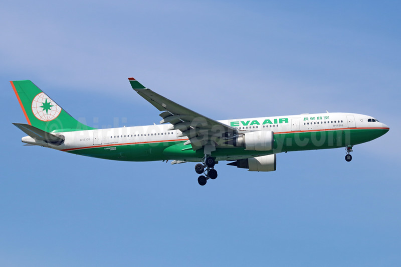 EVA Air Airbus A330-203 B-16308 (msn 655) BKK (Michael B. Ing). Image: 935386.