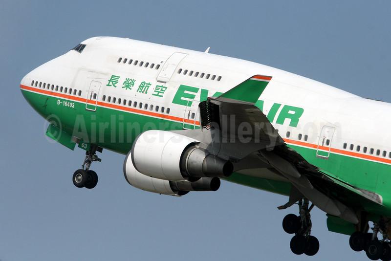 EVA Air Boeing 747-45E B-16403 (msn 27141) TPE (Manuel Negrerie). Image: 929619.