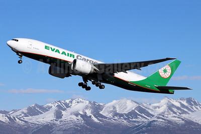 EVA Air Cargo Boeing 777F B-16783 (msn 62826) ANC (Michael B. Ing). Image: 955525.