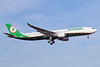 First EVA Air Airbus A330-300 in the new livery