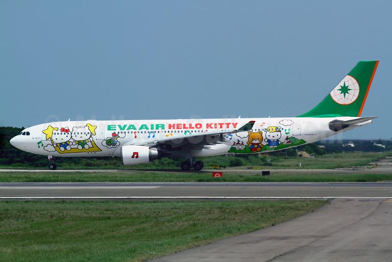 EVA Air Airbus A330-203 B-16311 (msn 693) (Hello Kitty - 4th) TPE (Manuel Negrerie). Image: 908332.