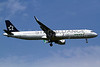 EVA Air Airbus A321-211 WL B-16206 (msn 5806) (Star Alliance) TPE (Manuel Negrerie). Image: 920893.