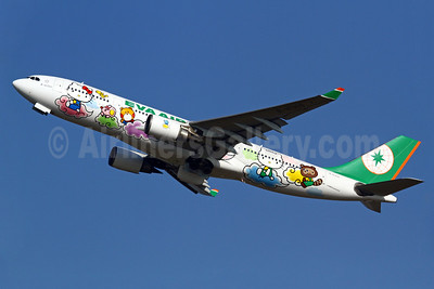 The 5th version of the Hello Kitty series of logo jets