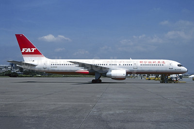 FAT-Far Eastern Air Transport Boeing 757-29J B-27005 (msn 27203) TPE (Christian Volpati Collection). Image: 945418.